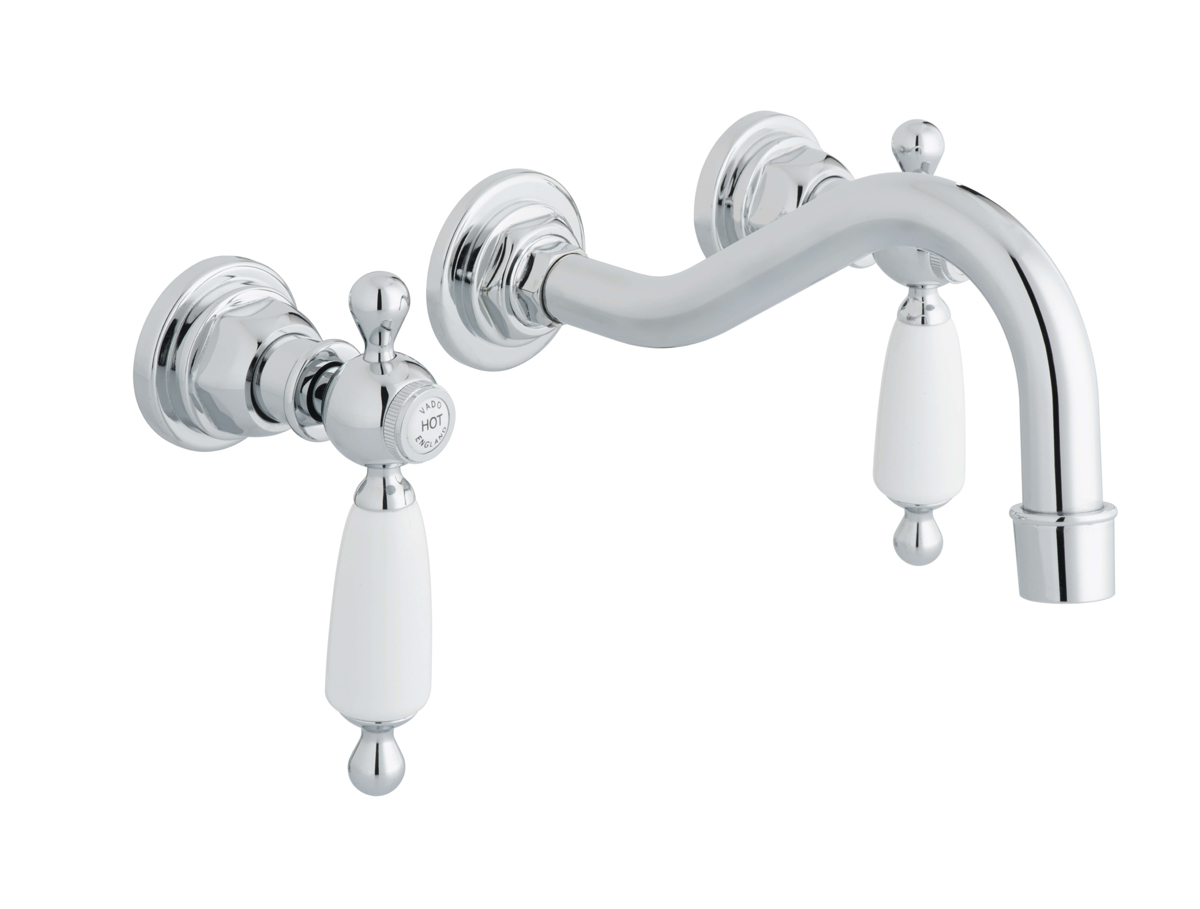 Traditional Wall Mounted Basin Tap Pryor Bathrooms