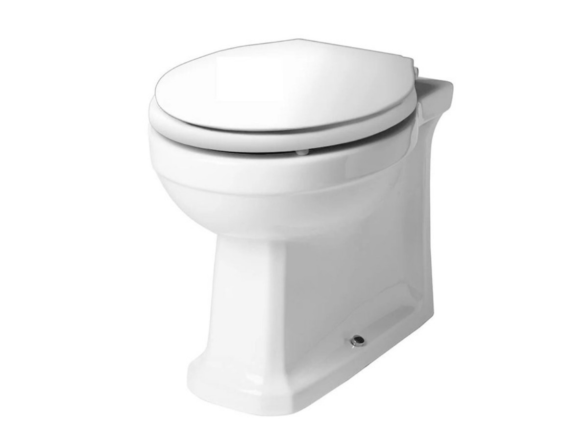 Tavistock Vitoria back to wall pan with white soft close seat thumbnail