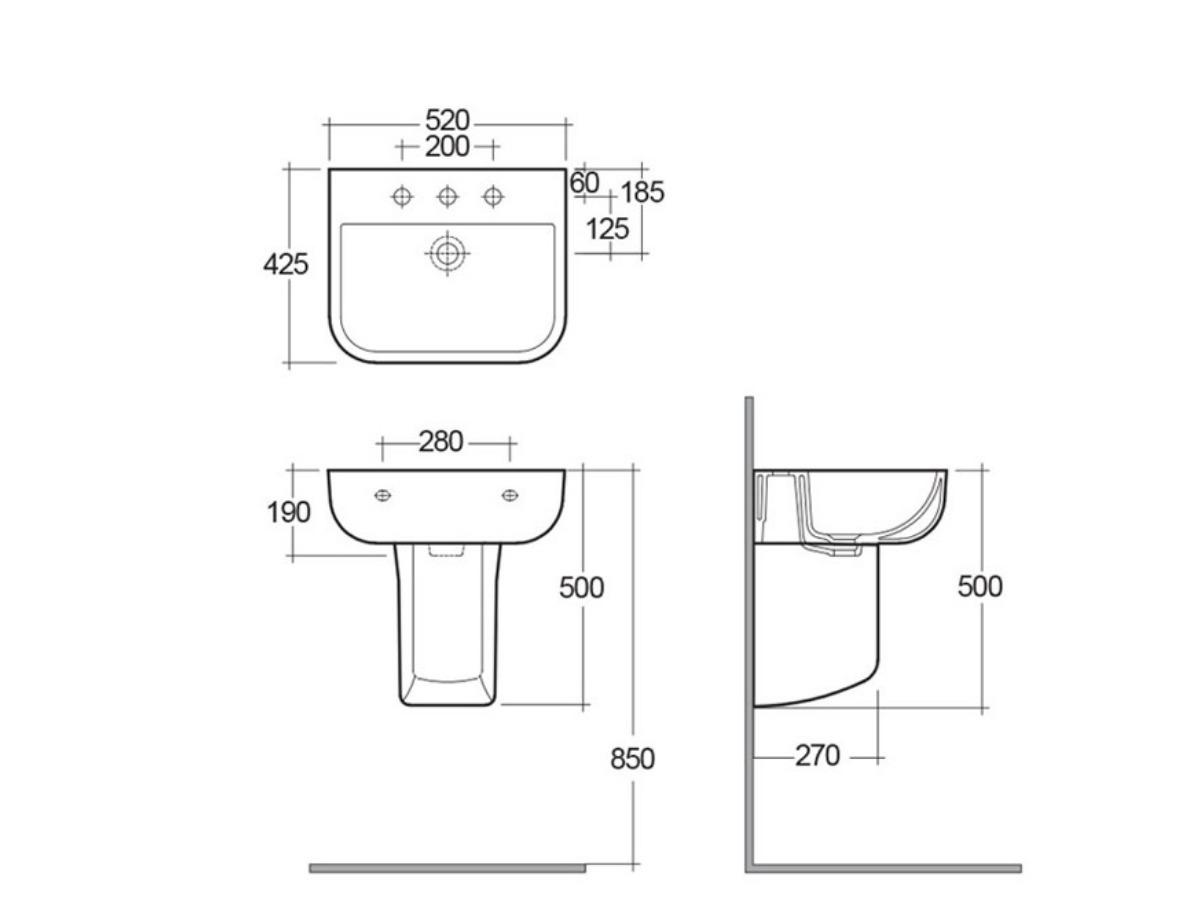 Main image for Wash Hand Basins
