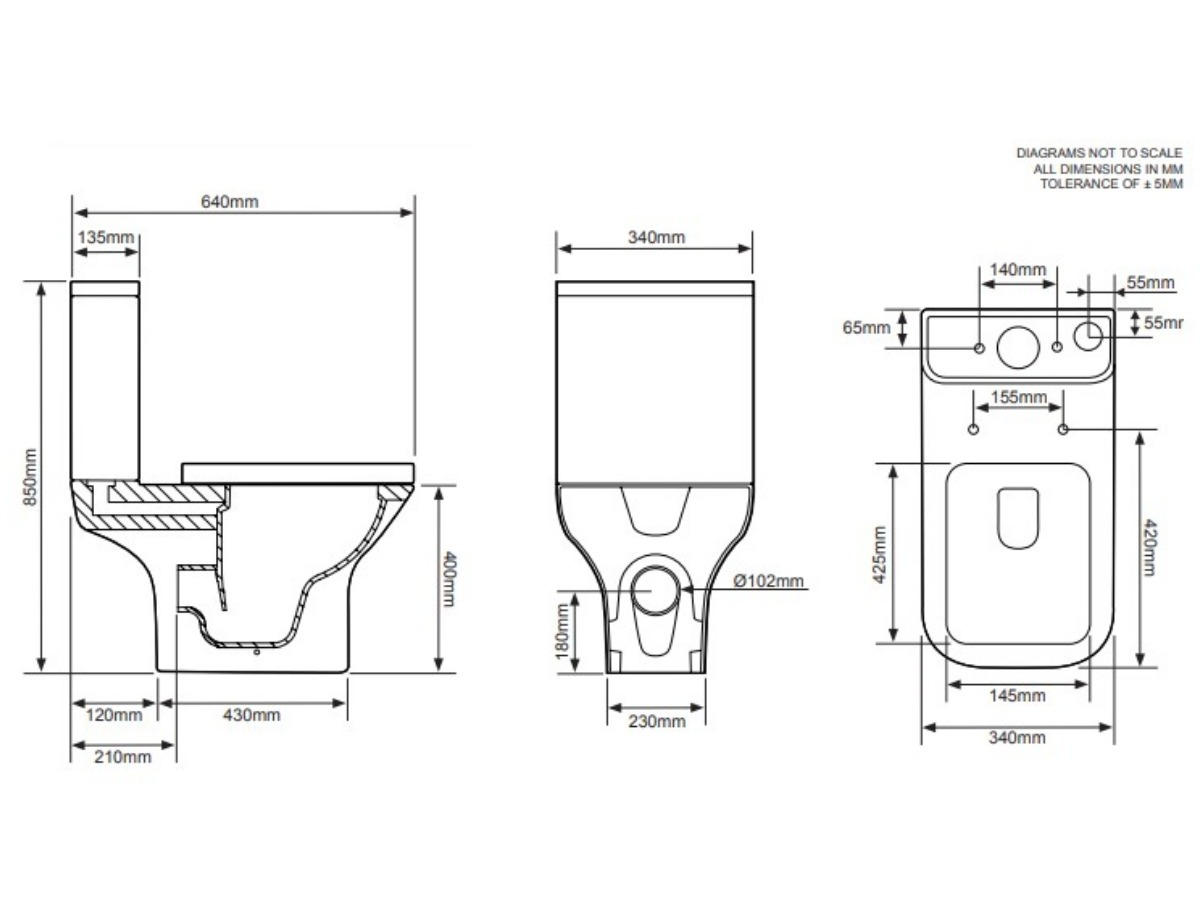 Tavistock Structure open back wc with soft close seat thumbnail